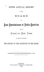 Annual Report: 1872, Volume 5, Part 1872