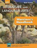Literature   Language Arts First Course Grade 7 PDF