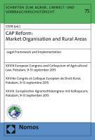 CAP Reform  Market Organisation and Rural Areas PDF