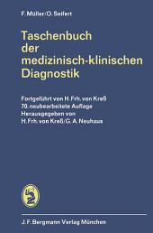 Taschenbuch der medizinisch-klinischen Diagnostik: Ausgabe 70