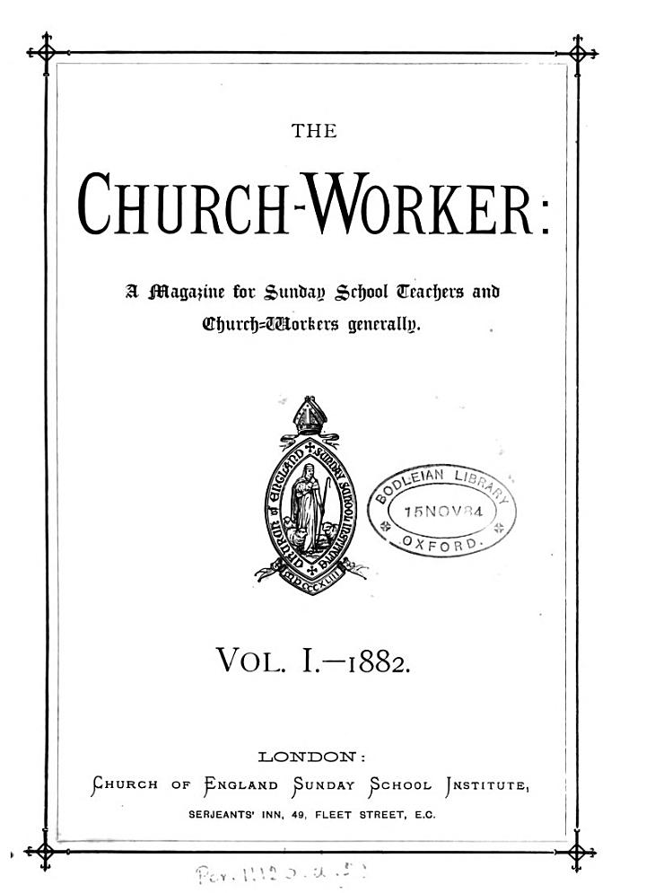 The Church-worker