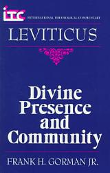 Divine Presence and Community