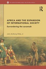 Africa and the Expansion of International Society PDF