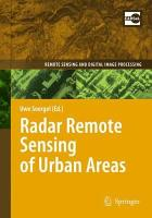 Radar Remote Sensing of Urban Areas PDF