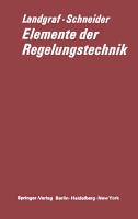 Elemente der Regelungstechnik PDF