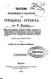 Tratado elemental y practico de patología interna: Volúmenes 3-4