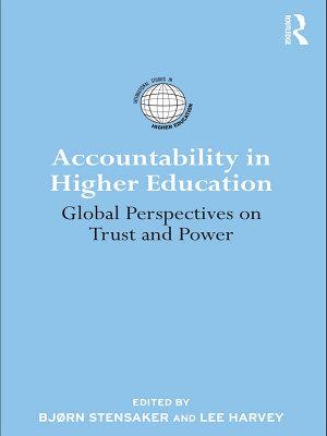 Accountability in Higher Education PDF
