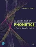 Fundamentals of Phonetics PDF