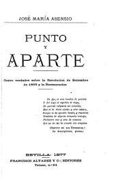 Punto y aparte: cuatro verdades sobre la Revolución de setiembre de 1868 y la Restauración