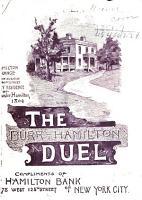 Burr Hamilton Duel PDF