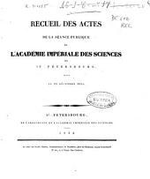 Recueil des actes de la séance publique de l'Académie Impériale des Sciences de St. Pétersbourg, tenue le 29 décembre 1831