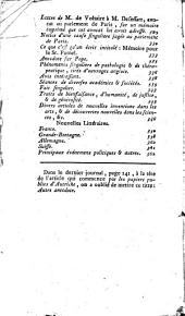 Journal encyclopédique... [Ed. Pierre Rousseau]