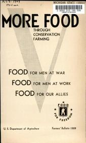 Farmers' Bulletin: Issue 1909