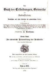 Das Buch der Erfindungen, Gewerbe und Industrien: Die chemische Behandlung der Rohstoffe; eine chemische Technologie