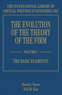 The Evolution of the Theory of the Firm PDF