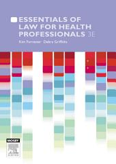 Essentials of Law for Health Professionals: Edition 3