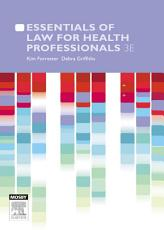 Essentials of Law for Health Professionals PDF