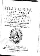 Historia ecclesiastica per annos digesta: Volume 4