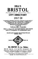 Hill s Bristol  Va  Tenn   City Directory PDF