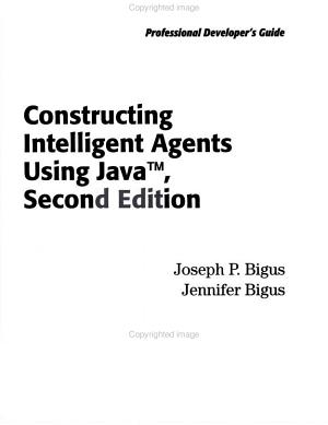 Constructing Intelligent Agents Using Java PDF