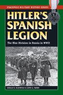Hitler's Spanish Legion
