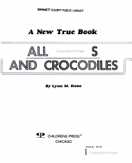 Alligators and Crocodiles PDF