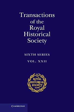 Transactions of the Royal Historical Society  Volume 22 PDF