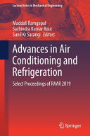 Advances In Air Conditioning And Refrigeration Book PDF