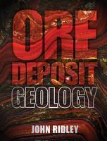 Ore Deposit Geology PDF
