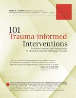 101 Trauma Informed Interventions PDF