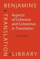 Aspects of Cohesion and Coherence in Translation PDF