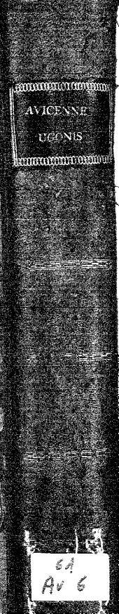 Ugo super primo Canon. Auicen: prestantissimi viri medicor[m] principis Ugonis Senensis sup[er] primo Can. Auicenne preclara expositio, vna cu[m] questio[n]ibus eiusdem...