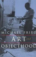 Art and Objecthood PDF