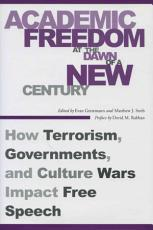 Academic Freedom at the Dawn of a New Century PDF