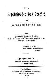 Bd. Schriftliche Rechts- und Staatslehre