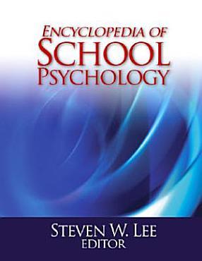 Encyclopedia of School Psychology PDF