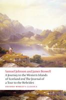 A Journey to the Western Islands of Scotland and the Journal of a Tour to the Hebrides PDF