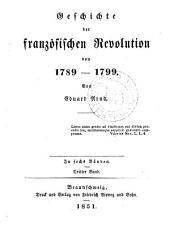 Geschichte der französischen revolution von 1789-1799: Band 3
