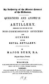 Questions and answers on artillery