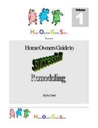 Home Owners Guide Series Book PDF