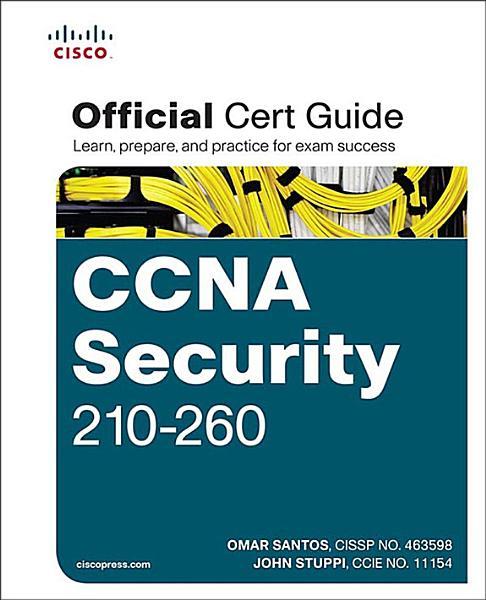CCNA Security 210-260 Official Cert Guide Pdf Book