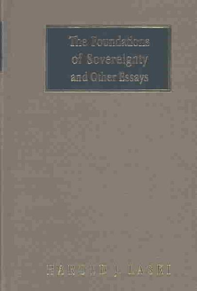 Download The Foundations of Sovereignty and Other Essays Book
