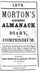 Morton s Lincolnshire  afterw   Morton s sixpenny almanack and diary  with Compendium   PDF