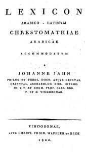 Arabische Chrestomathie