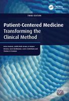 Patient Centered Medicine PDF