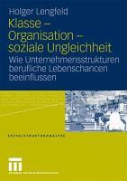 Klasse   Organisation   soziale Ungleichheit PDF