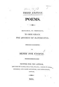 Poems  Dedicated     to her Grace the Duchess of Manchester Book