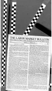 The Labor Market ... Reviewed by the Bureau of Statistics & Information