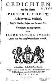 Gedichten / Hooft, Pieter Corneliszoon