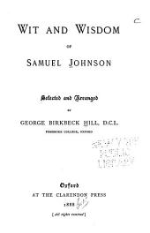 Wit and Wisdom of Samuel Johnson